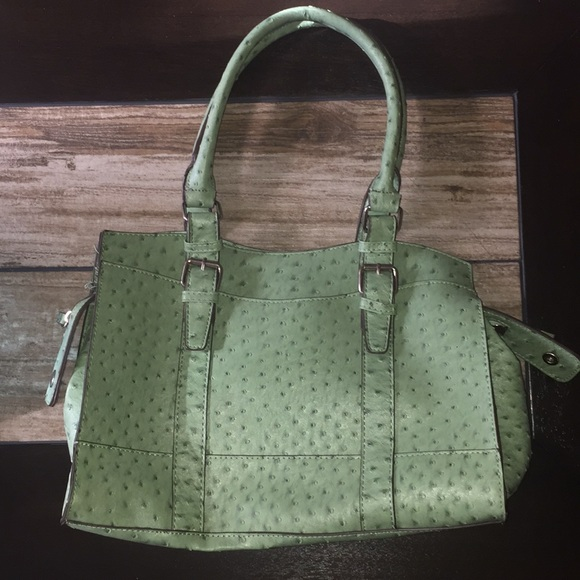 Bueno Handbags - Mint Purse With Brown Lining